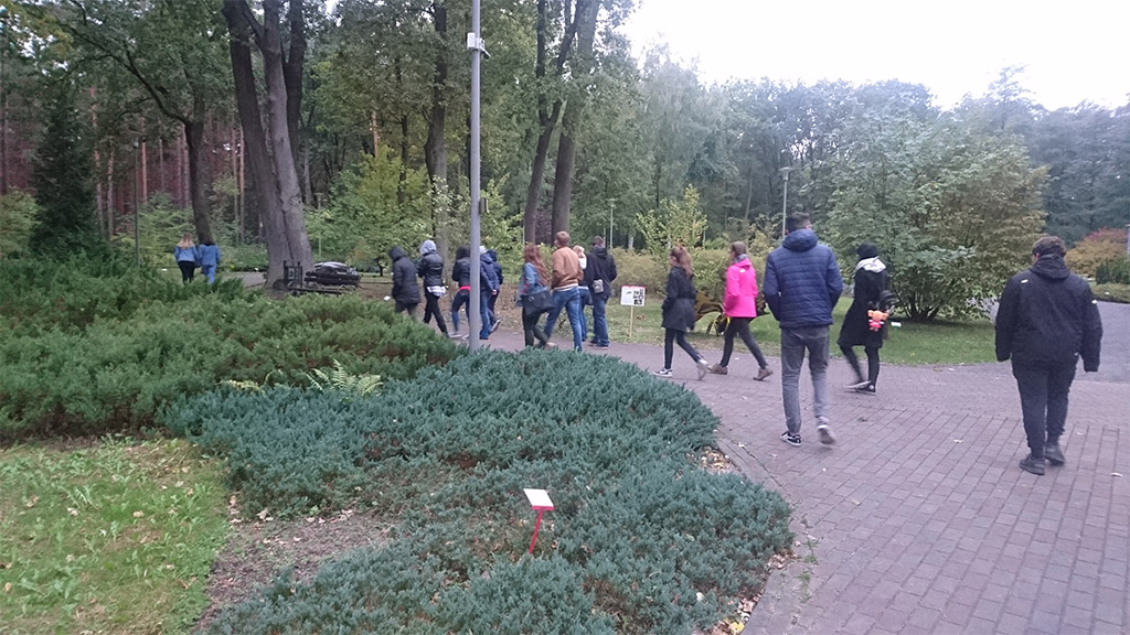 Wyjście integracyjne grupy III do Ogrodu Botanicznego